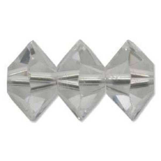 6mm Swarovski Crystal Spacer (5305) - Crystal