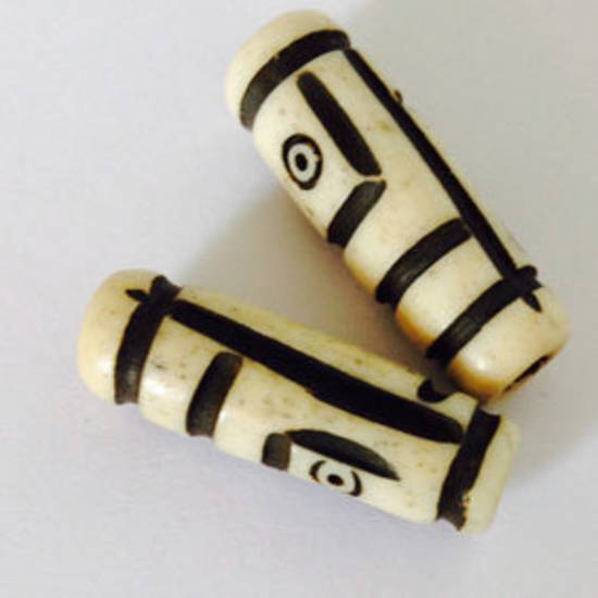 Bone Bead: Decorative Tube