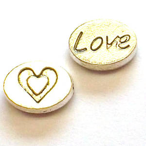Casting, Love disc bead