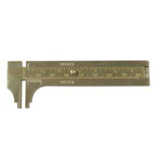 NEW! BeadSmith Brass Caliper Gauge.