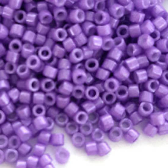 NEW! Delica, colour 1379 Dyed Opaque  Violet Sheen