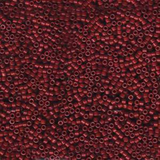 Delica, colour 654 - Dyed Opaque Cranberry