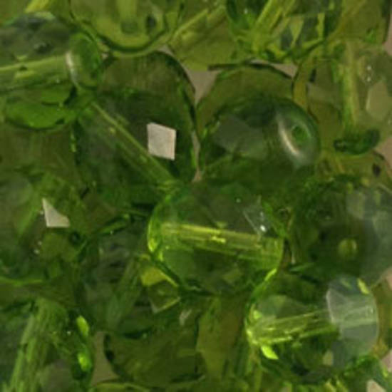 Czech Firepolished Facet: 12mm - Olivine