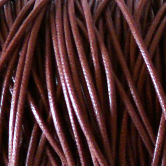 1mm round Japanese Filament Cord, Brown