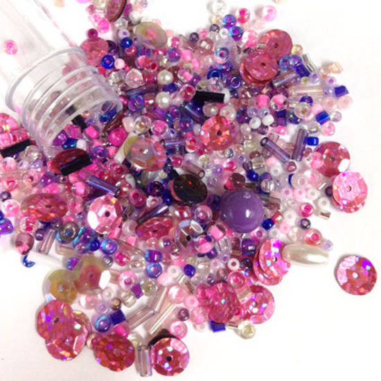 Seed Bead Mix, 15gm - PRINCESS