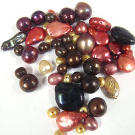 NEW! FRESHWATER PEARL MIX: Sunset