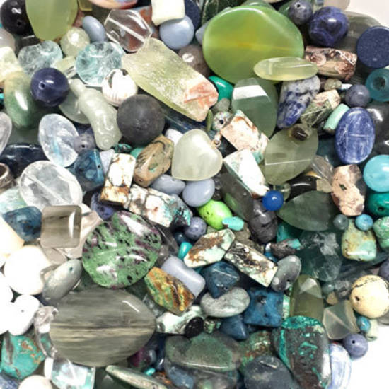 Semi Precious Super MIX 3: Greens and Blues