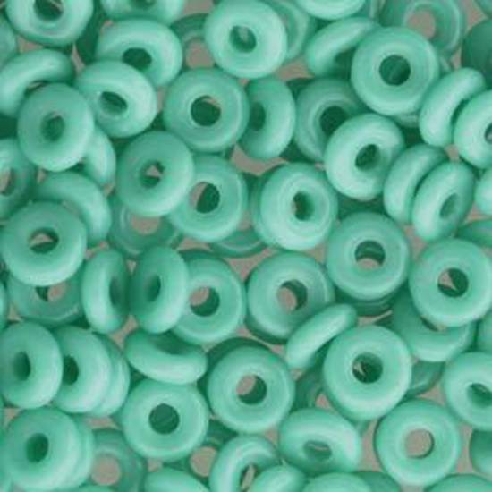 NEW! Czech O Bead - Jade