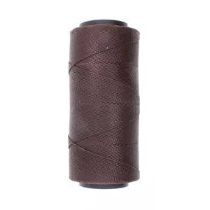 Knot-It Brazilian Waxed Polyester Cord: Dark Chocolate - 144m roll
