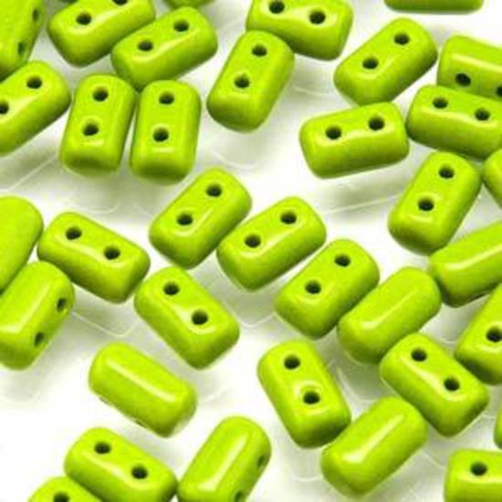 Rulla Bead: Opaque Green