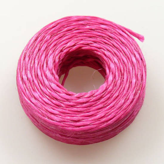 1mm Cotton 'Sinew' Cord - Hot Pink