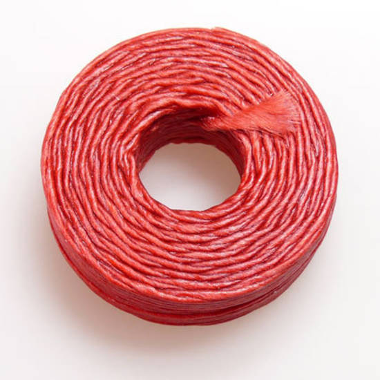 1mm Cotton 'Sinew' Cord - Red