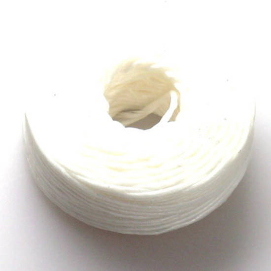 1.2mm Cotton 'Sinew' Cord - White