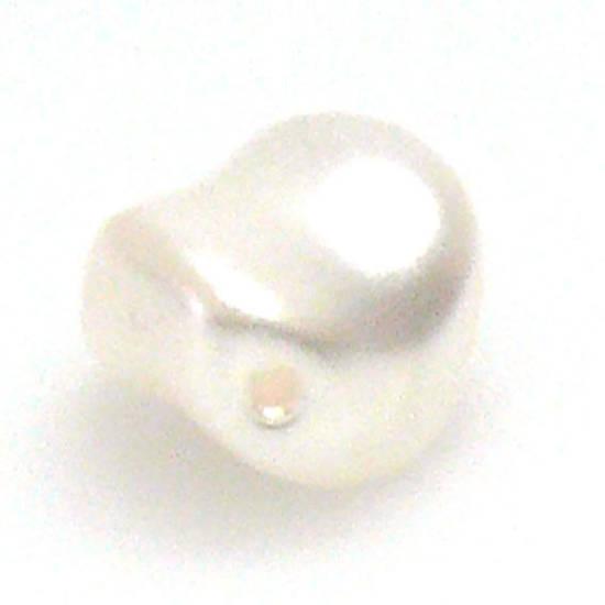 Baroque Swarovski Pearl, White