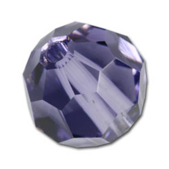 6mm Swarovski Crystal Round, Tanzanite