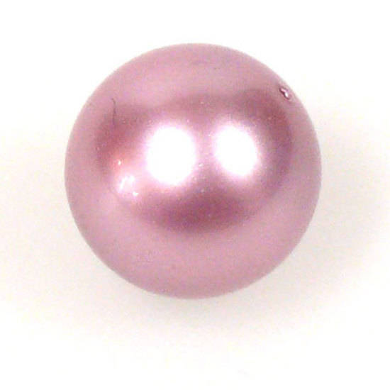 4mm Round Swarovski Pearl, Powder Rose