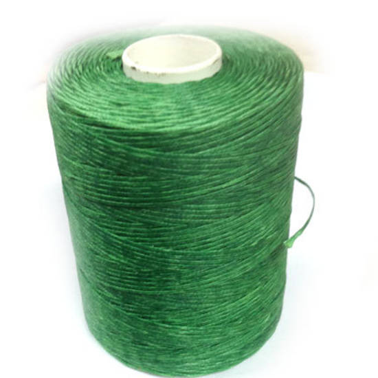 1mm Braided Waxed Cord, Kelly Green