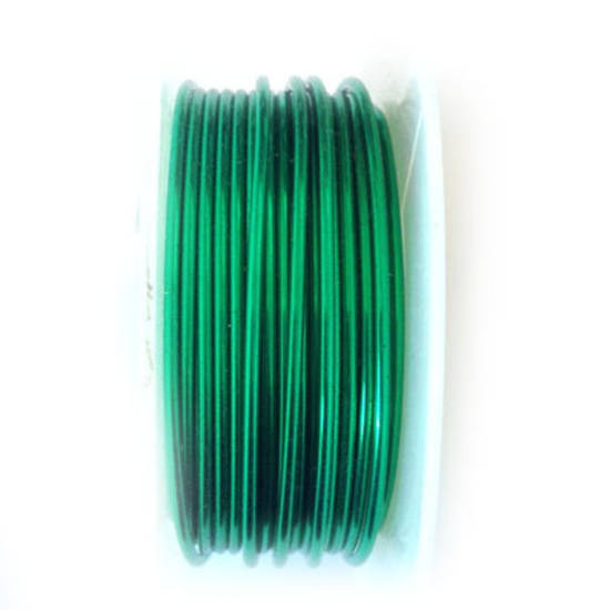 CLEARANCE: Artistic Wire, Christmas Green, 18 gauge