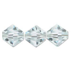 4mm Swarovski Crystal Bicone, Azore, light