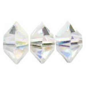 6mm Swarovski Crystal Spacer (5305) - Crystal AB