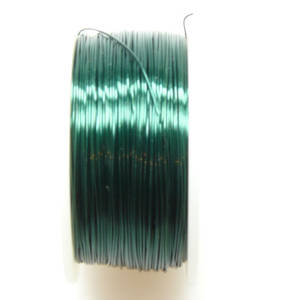 CLEARANCE: Artistic Wire, Dark Green, 28 gauge