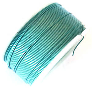 CLEARANCE: Artistic Wire, Turquoise, 28 gauge