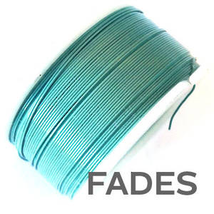CLEARANCE: Artistic Wire, Turquoise (faded), 28 gauge