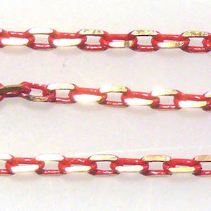 Coloured Chain: Red (3mm)