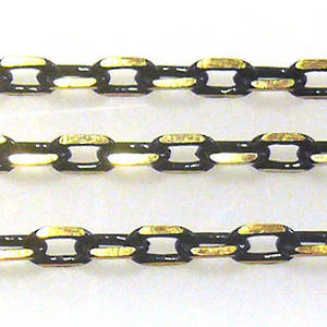 Coloured Chain: Black (3mm)