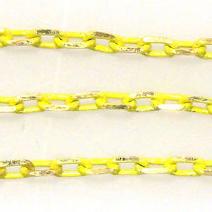 Coloured Chain: Yellow (3mm)