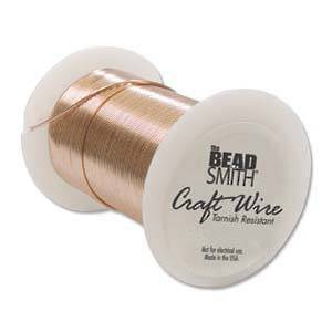 Craft Wire, Copper Colour: 18 gauge