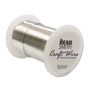 Craft Wire, Silver Colour: 24 gauge