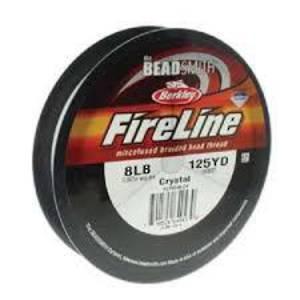 NEW! 8lb Fireline, 125 yard spool: CRYSTAL CLEAR