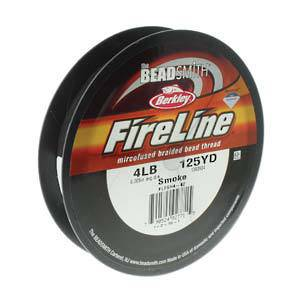 4lb Fireline, 125 yard spool: SMOKE GREY