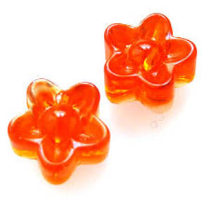 NEW! Chunky Daisy, 12mm - Orange