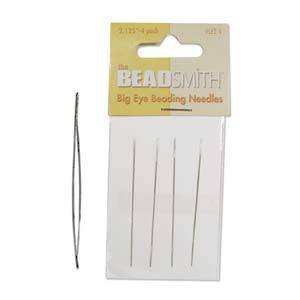 Bead Smith Big Eye Needle - 4 Pack
