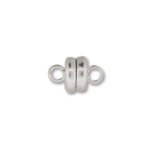 Small Magnetic Clasp - bright silver