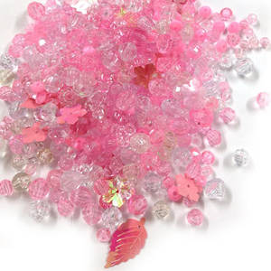 NEW! Acrylic/Glass Mix: Pink Princess