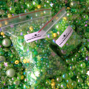 Acrylic Mix: Greens