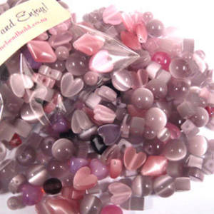 NEW! Fibre Optic MIX: Purple/Pink