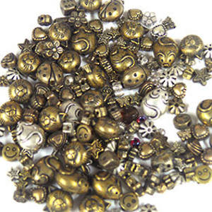 NEW! Acrylic Mix: metallised golds