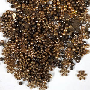 Acrylic Spacer Mix: Golds