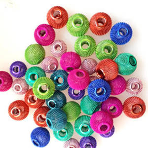 NEW! Metal Mix: Mesh Balls - brights
