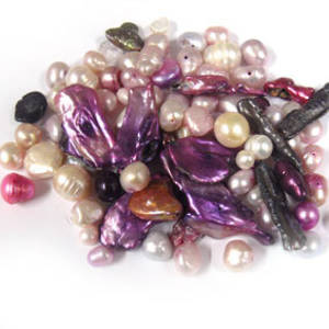 NEW! FRESHWATER PEARL MIX: Pinkos