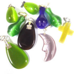 NEW! Fibre Optic MIX: Pendants x 9