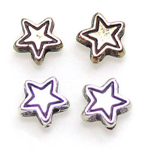 Large acrylic star shaped bead.