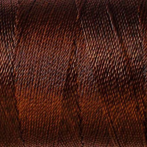 Soft and silky nylon thread: Brown