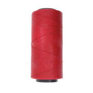 NEW! Knot-It Brazilian Waxed Polyester Cord: Red - per meter
