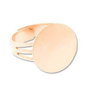 Adjustable Ring Base - BRIGHT COPPER