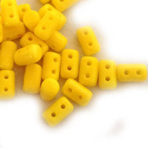 NEW! Rulla Bead, Opaque Lemon